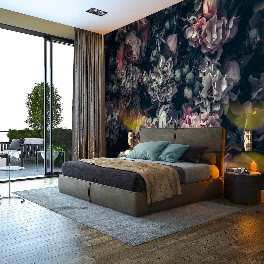 Consalnet Vliestapete »Blumen Vintage Muster«, floral