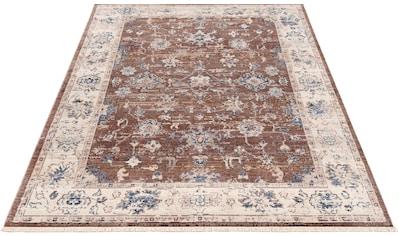 DELAVITA Teppich »Arcun«, rechteckig, 6 mm Höhe, Vintage-Optik, Größe 1+2 wird ohne... kaufen