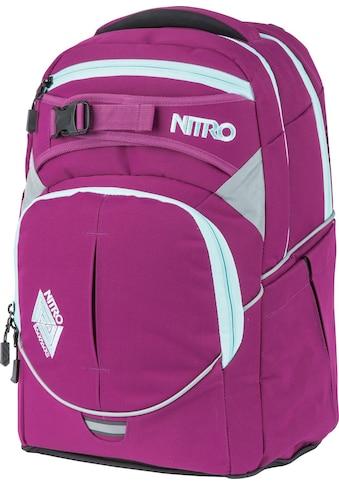 NITRO Schulrucksack »Superhero Grateful Pink«, Reflektoren, mit gratis Pencil Case & Duffle Bag kaufen