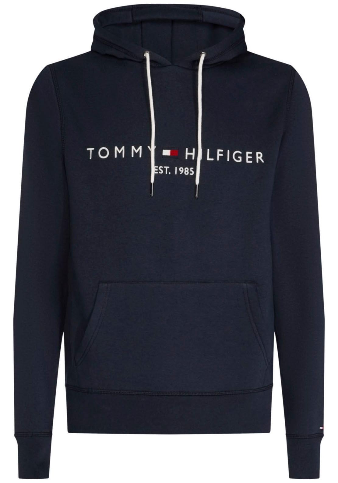 TOMMY HILFIGER Kapuzensweatshirt LOGO HOODY blau Herren Sweatshirts -jacken