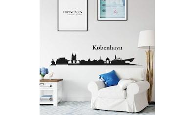 Wall-Art Wandtattoo »Stadt Skyline Kopenhagen 120cm« kaufen
