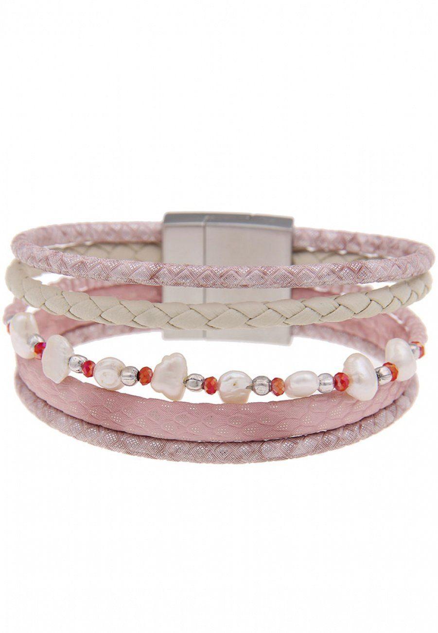 leslii Armband mit Glasperlen   Schmuck > Armbänder > Perlenarmbänder   Leslii