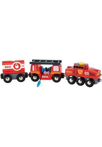 """BRIO® Spielzeug - Eisenbahn """"BRIO® WORLD Feuerwehr Löschzug"""" kaufen"""