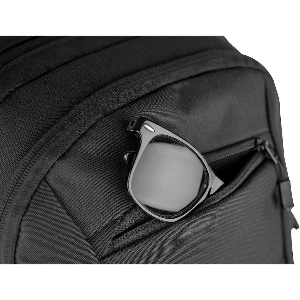 NITRO Schulrucksack »Stash 24, True Black«