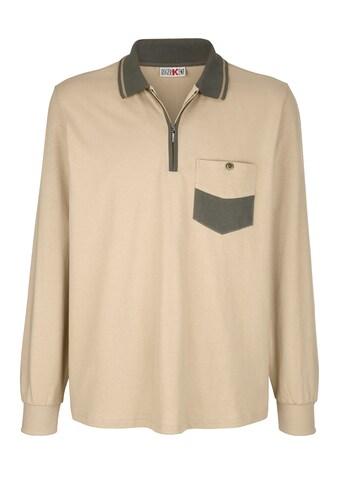 Roger Kent Poloshirt mit Brusttasche kaufen