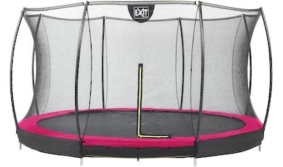 EXIT Gartentrampolin »Silhouette Ground«, Ø 427 cm, mit Sicherheitsnetz kaufen