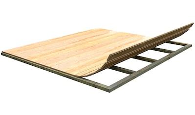 Weka Fußboden für Gartenhäuser »(BxT: 250 x 250 cm)« kaufen