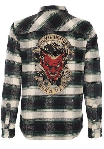 KingKerosin Flanellhemd »Devil Inside« kaufen