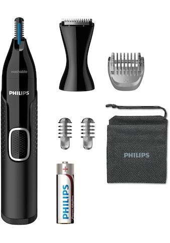 Philips Nasen- und Ohrhaartrimmer »NT5650/16«, 3 Aufsätze, ultimativer Komfort ohne Ziepen kaufen