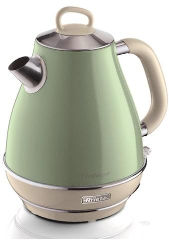 Ariete Wasserkocher, Vintage 2869 grün, 1,7 Liter, 2200 Watt kaufen