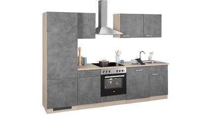 wiho Küchen Küchenzeile »Zell«, ohne E-Geräte, Breite 280 cm kaufen