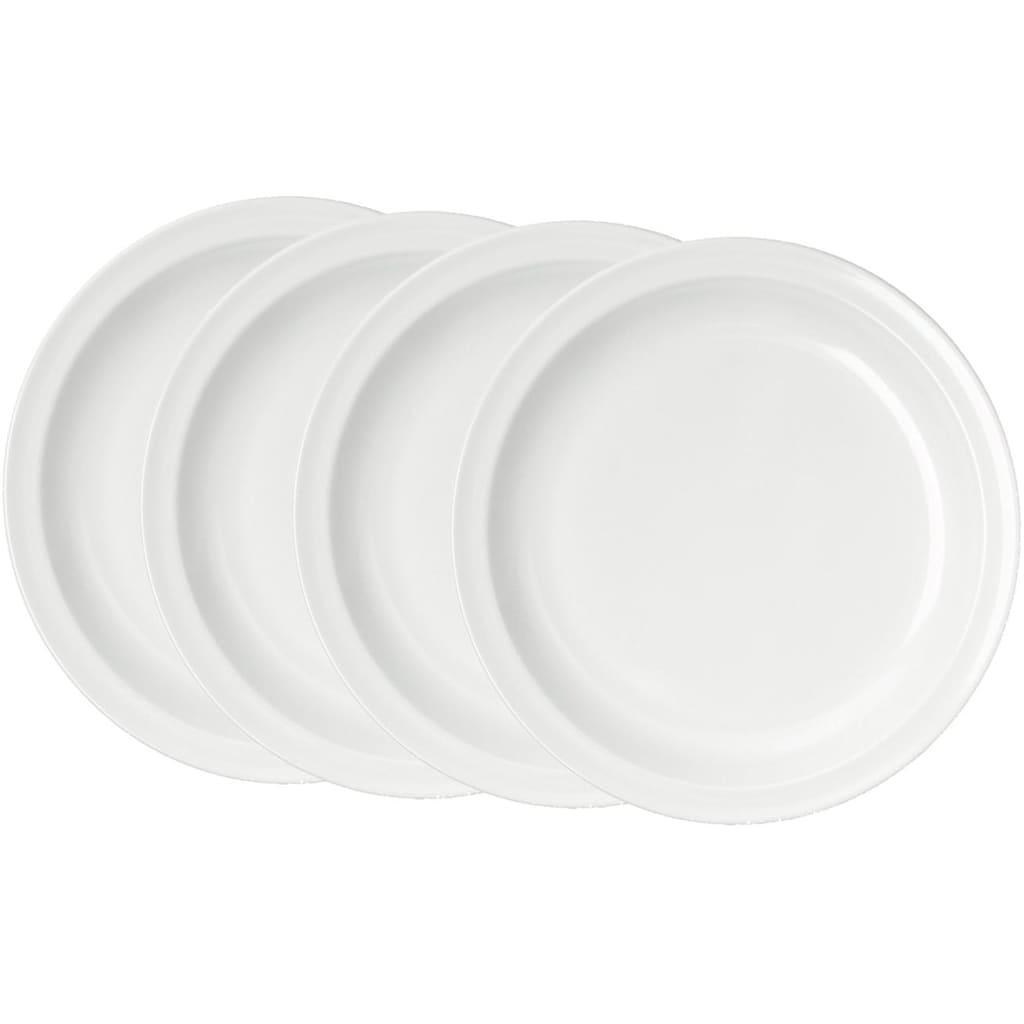 WACA Speiseteller, (Set), Melamin, Ø 23,5 cm