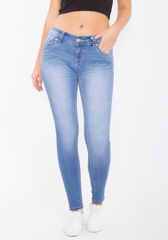 Blue Monkey Skinny - fit - Jeans »Olivia 3788« kaufen