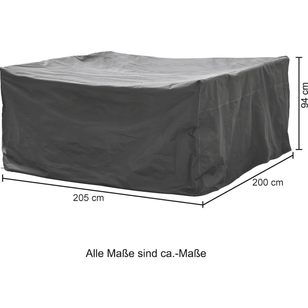 KONIFERA Gartenmöbel-Schutzhülle, LxBxH: 205x200x94 cm