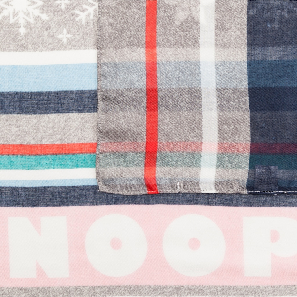 Codello Schal, mit Snoopy & Co. aus recyceltem Polyester