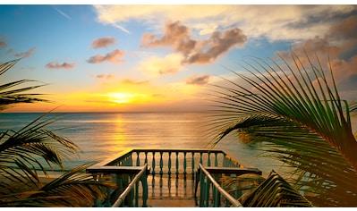 PAPERMOON Fototapete »Terrace View«, Vlies, in verschiedenen Größen kaufen