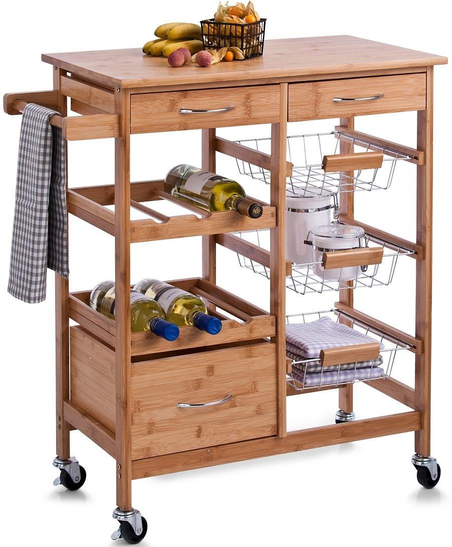 Outdoor Küchenwagen : Küchenwagen kaufen servierwagen baur