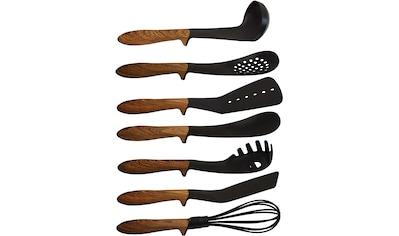 PINTINOX Kochbesteck-Set »Pinti Chalet«, (Set, 7 tlg.), Kunsttoff, Griff in Holzoptik,... kaufen