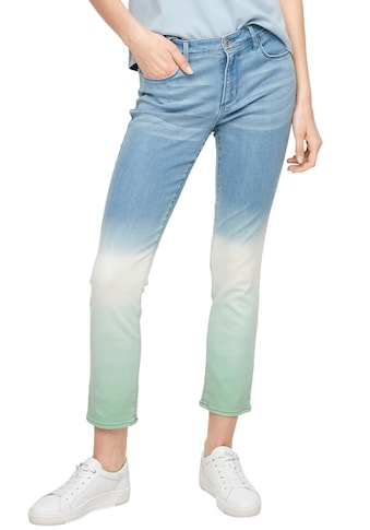 s.Oliver Slim-fit-Jeans »Betsy«, mit Farbverlauf kaufen