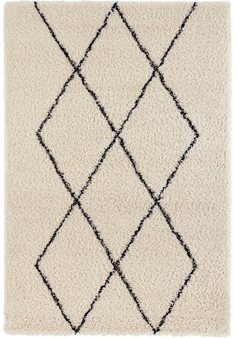 andas Hochflor-Teppich »Lene«, rechteckig, 35 mm Höhe, weicher Flor, Wohnzimmer kaufen
