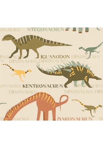 A.S. CRÉATION Papiertapete »Boys & Girls«, mit Dinosaurieren kaufen