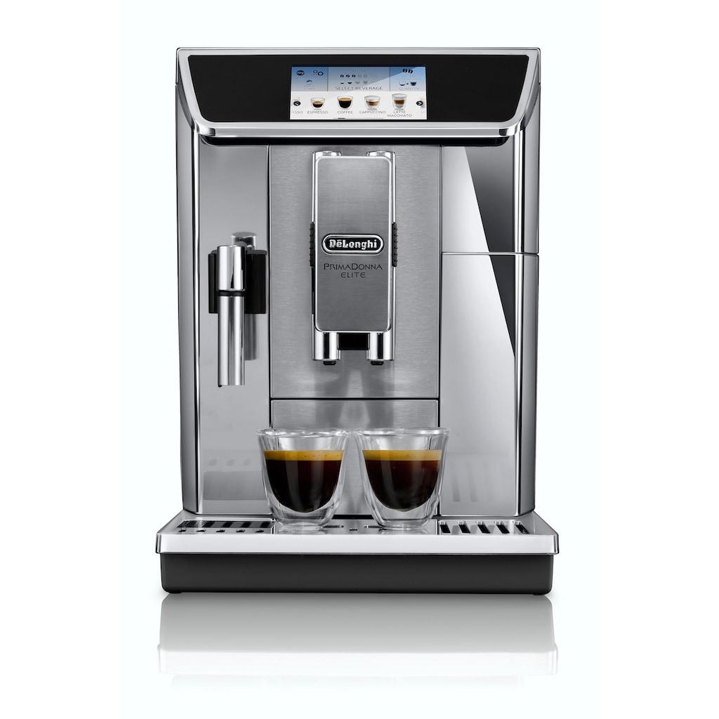 De'Longhi Kaffeevollautomat »PrimaDonna Elite ECAM 656.75.MS«, App-Steuerung