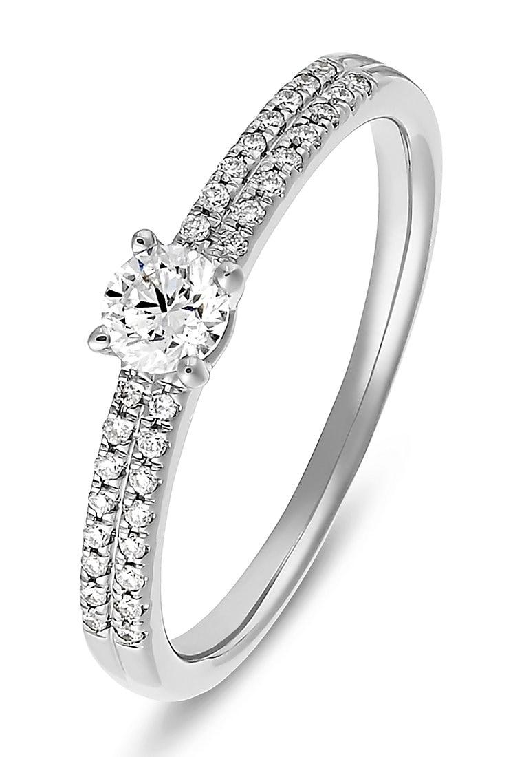 CHRIST Diamantring 32011868 | Schmuck > Ringe > Diamantringe | Christ