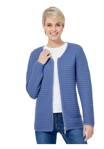 Casual Looks Strickjacke in attraktiver Optik kaufen