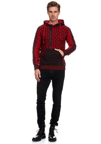 Rusty Neal Kapuzensweatshirt, in ausgefallenem Design kaufen
