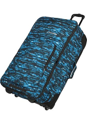 travelite Weichgepäck-Trolley »Basics, 78 cm, blau« kaufen