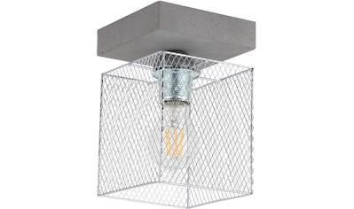 SPOT Light Deckenleuchte »GITTAN«, E27, 1 St., Echtes Beton, Naturprodukt -... kaufen