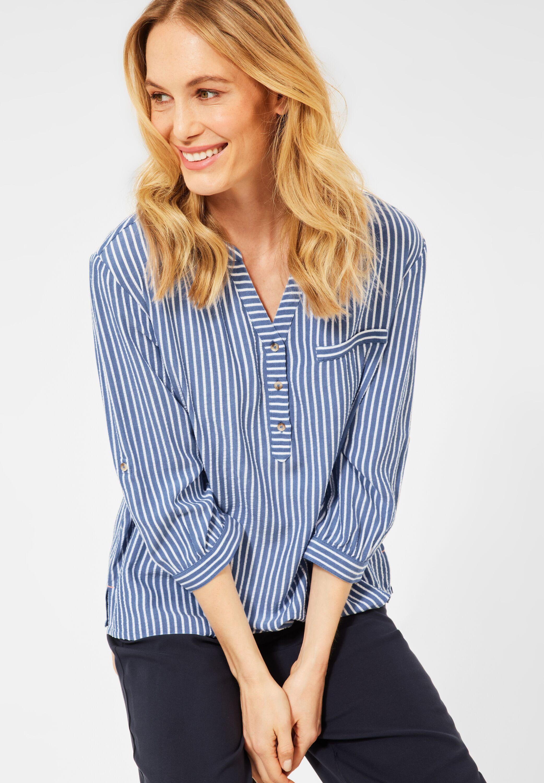 cecil -  Shirtbluse, mit Streifenmuster