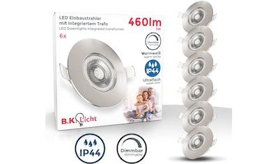 B.K.Licht LED Einbauleuchte, LED-Board, Warmweiß, LED Einbaustrahler Bad Spot dimmbar... kaufen