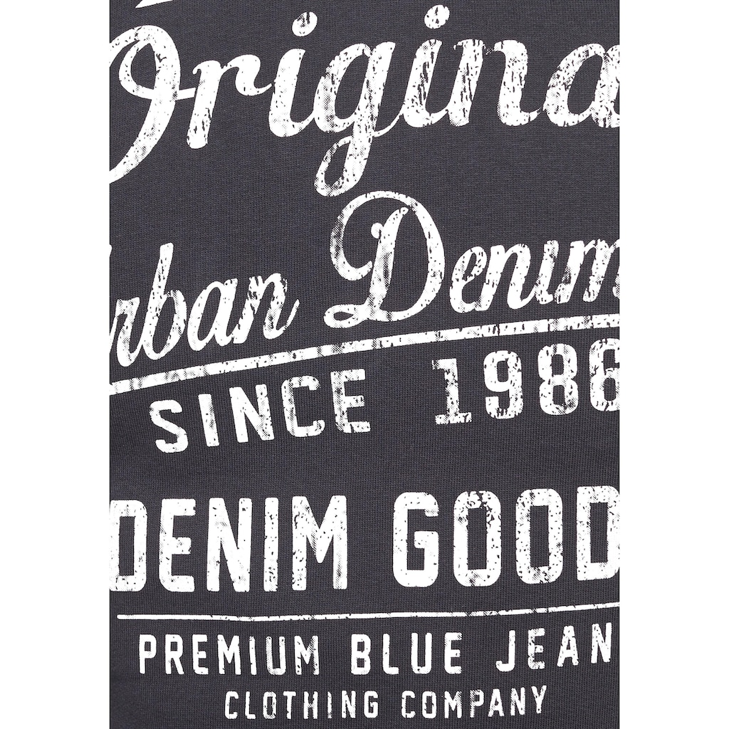 John Devin Kapuzensweatshirt, mit verschiedenen Drucken