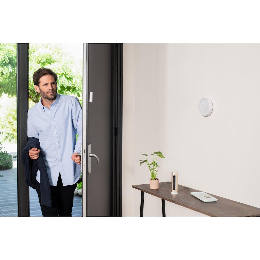 Netatmo Smart Home Kamera »Smarte Innenkamera, Sensoren, Innensirene Bundle«, Innenbereich, (10), Smarte Überwachung für den Innenraum
