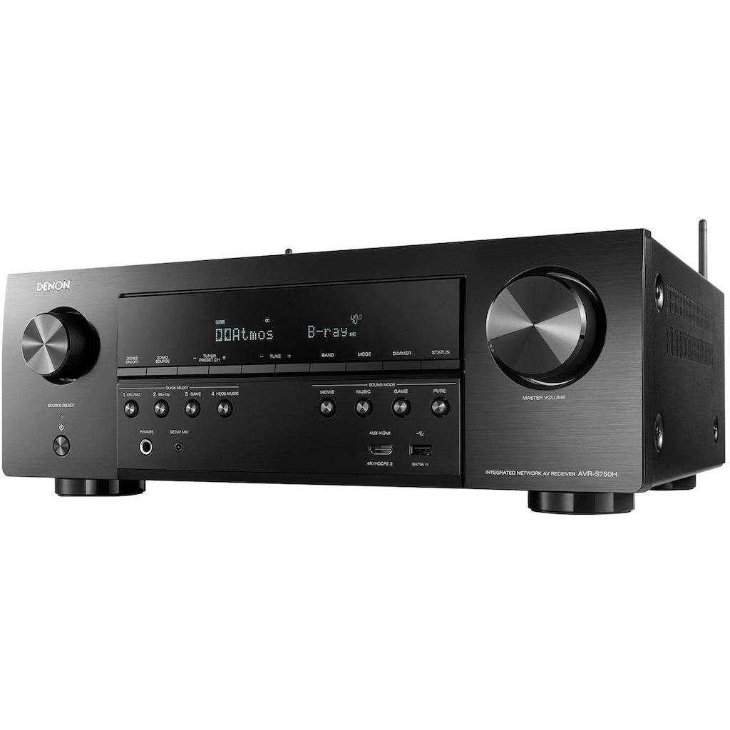 Denon AV-Receiver »AVR-S750H«, 7.2, (Bluetooth-WLAN-LAN (Ethernet) Internetradio-Installations-Assistent-Sleeptimer-FM Tuner-Sprachsteuerung)