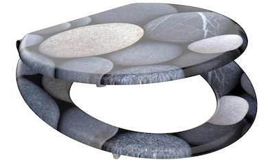 Schütte WC-Sitz »MDF WC- Sitz mit Holzkern und Absenkautomatik«, geräuschloses Schließen kaufen