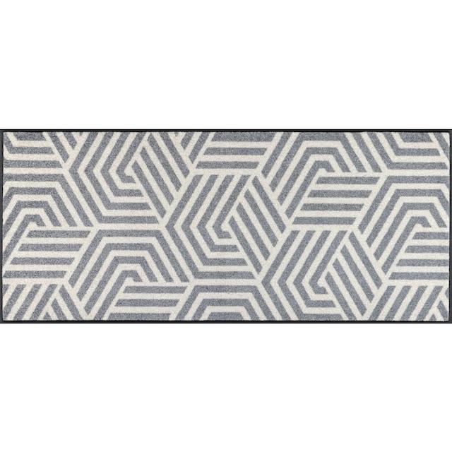 Teppich, »Odin«, wash+dry by Kleen-Tex, rechteckig, Höhe 7 mm, gedruckt