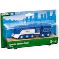BRIO® Spielzeug-Zug »Blauer Dampfzug (Special Edition 2021)«, Limitierte Auflage; FSC® - schützt Wald - weltweit