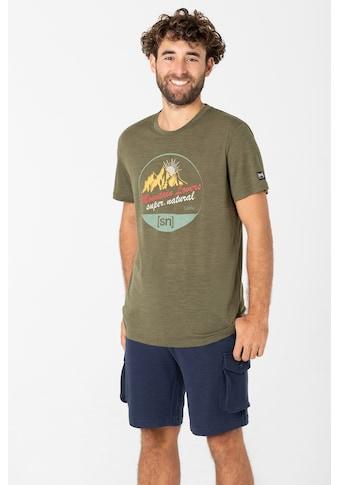 SUPER.NATURAL T - Shirt »M ADVENTURE TEE« kaufen
