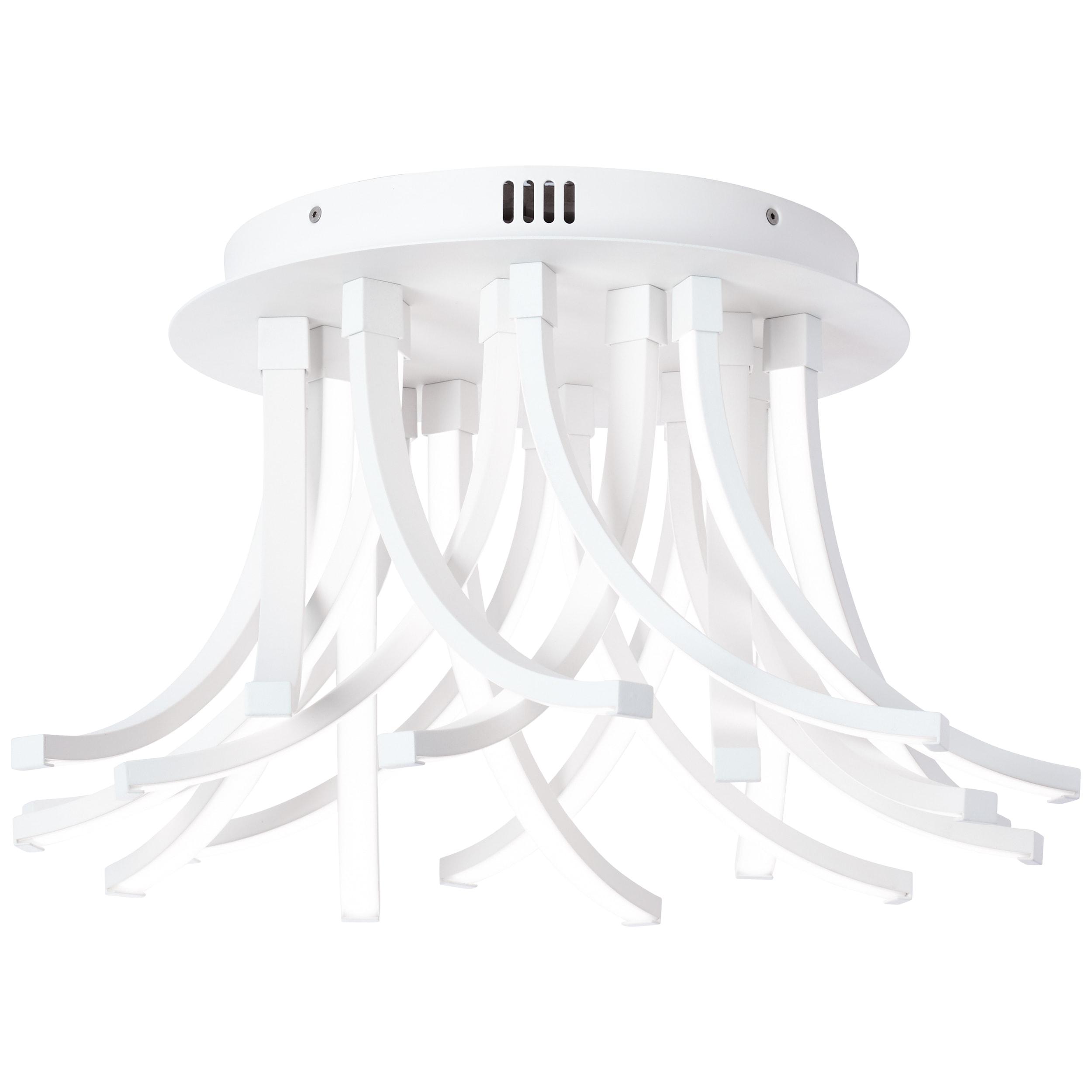 AEG Peria LED Deckenleuchte 49cm sand/weiß