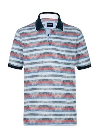 Babista Poloshirt, mit aufwändigem Jacquard-Muster rundum kaufen
