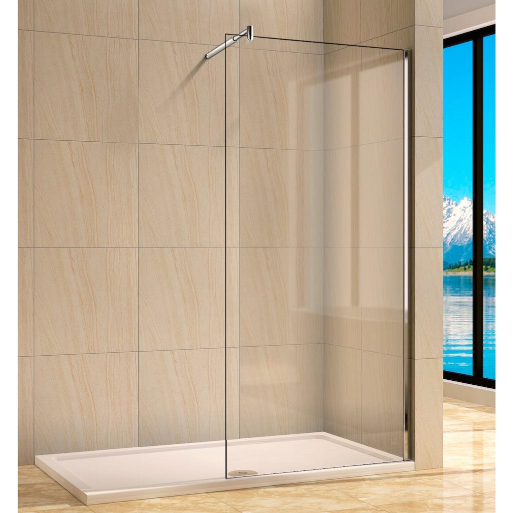 welltime Walk-in-Dusche »Rom«, Breite 120 cm, Duschabtrennung