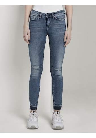 TOM TAILOR Denim Skinny - fit - Jeans »Jona Extra Skinny Jeans mit Rissen« kaufen