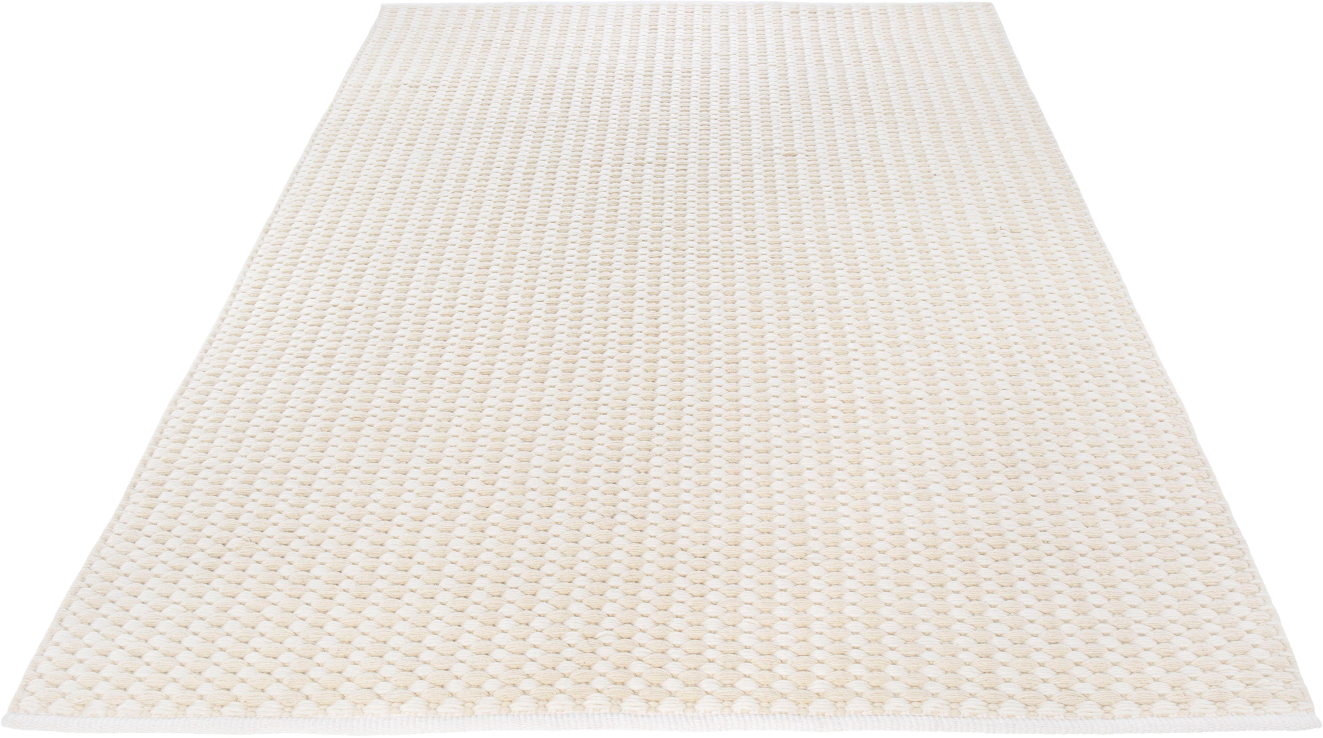 Teppich, »Finn«, Wohnidee, rechteckig, Höhe 12 mm, handgewebt