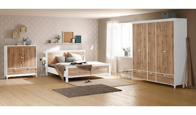 Home affaire Bett »Kjell«, mit dezenter Fräsung kaufen
