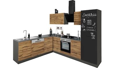 HELD MÖBEL Winkelküche »Trier«, ohne E-Geräte, Stellbreite 220/270 cm kaufen