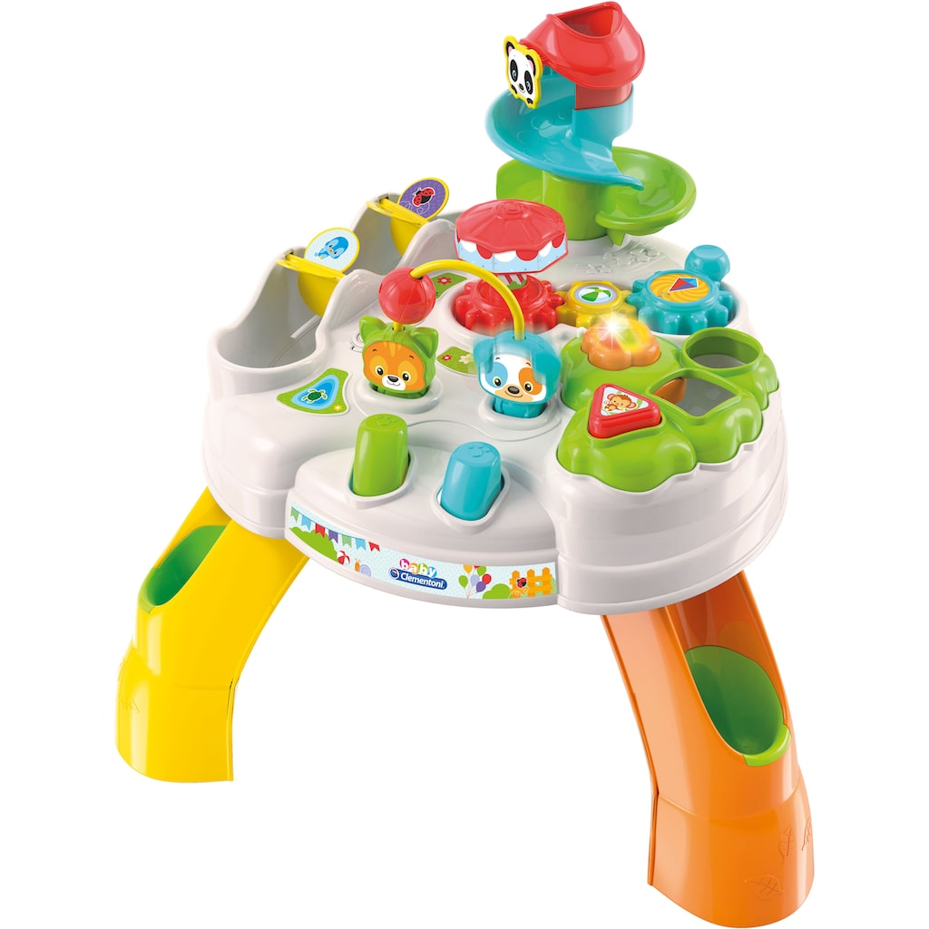 Clementoni® Spieltisch »Clementoni Baby - Park Activity Table«, mit Licht und Sound; Made in Europe