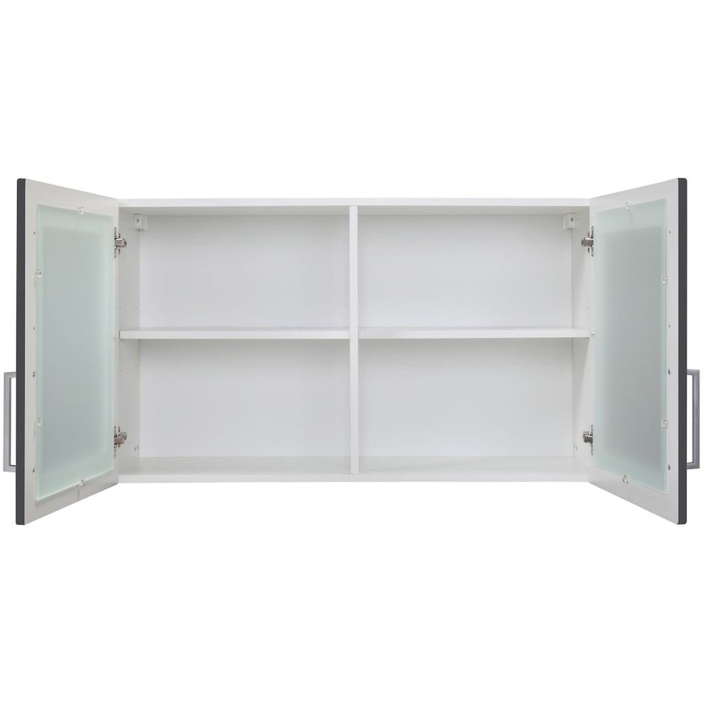 HELD MÖBEL Glashängeschrank »Stockholm, Breite 100 cm«, hochwertige MDF-Fronten