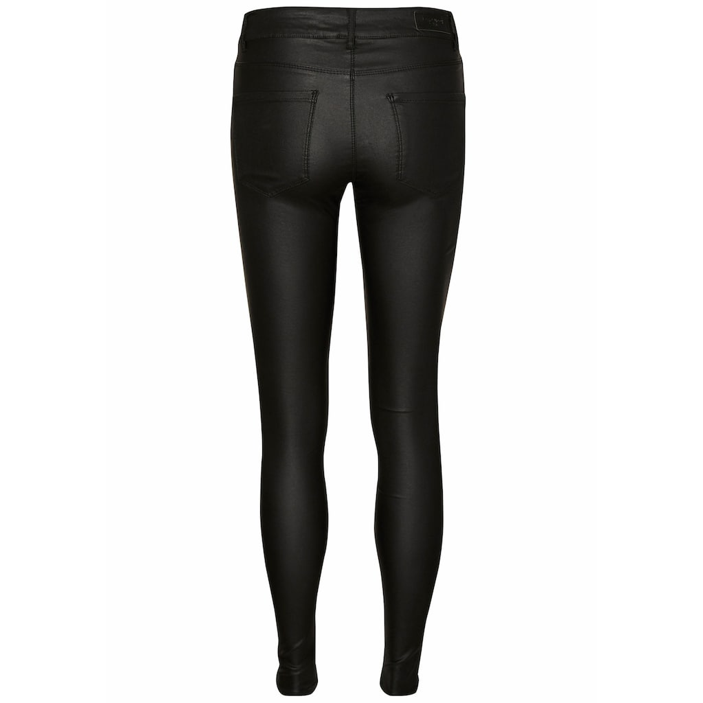 Vero Moda Stretch-Hose »VMSEVEN COATED«